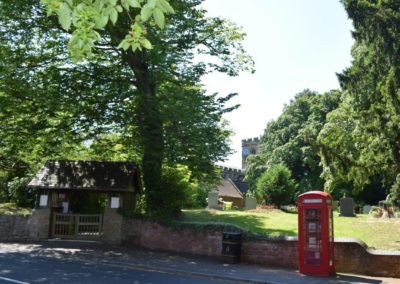St Mary and St Bartholomew Church and Telephone Box