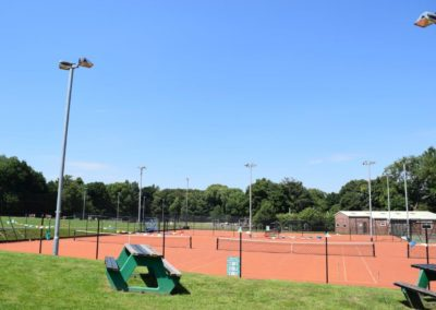 Tennis Courts at the Recreation Ground