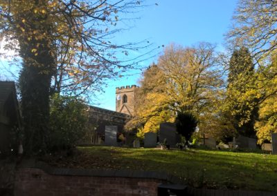 The Church in November sunshine
