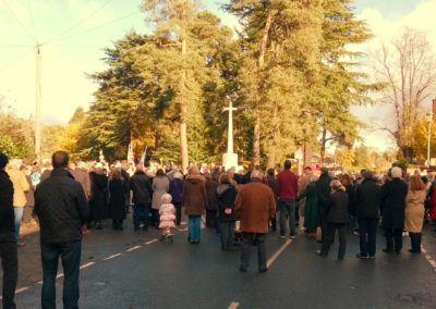 Remebrance Day at the Memorial